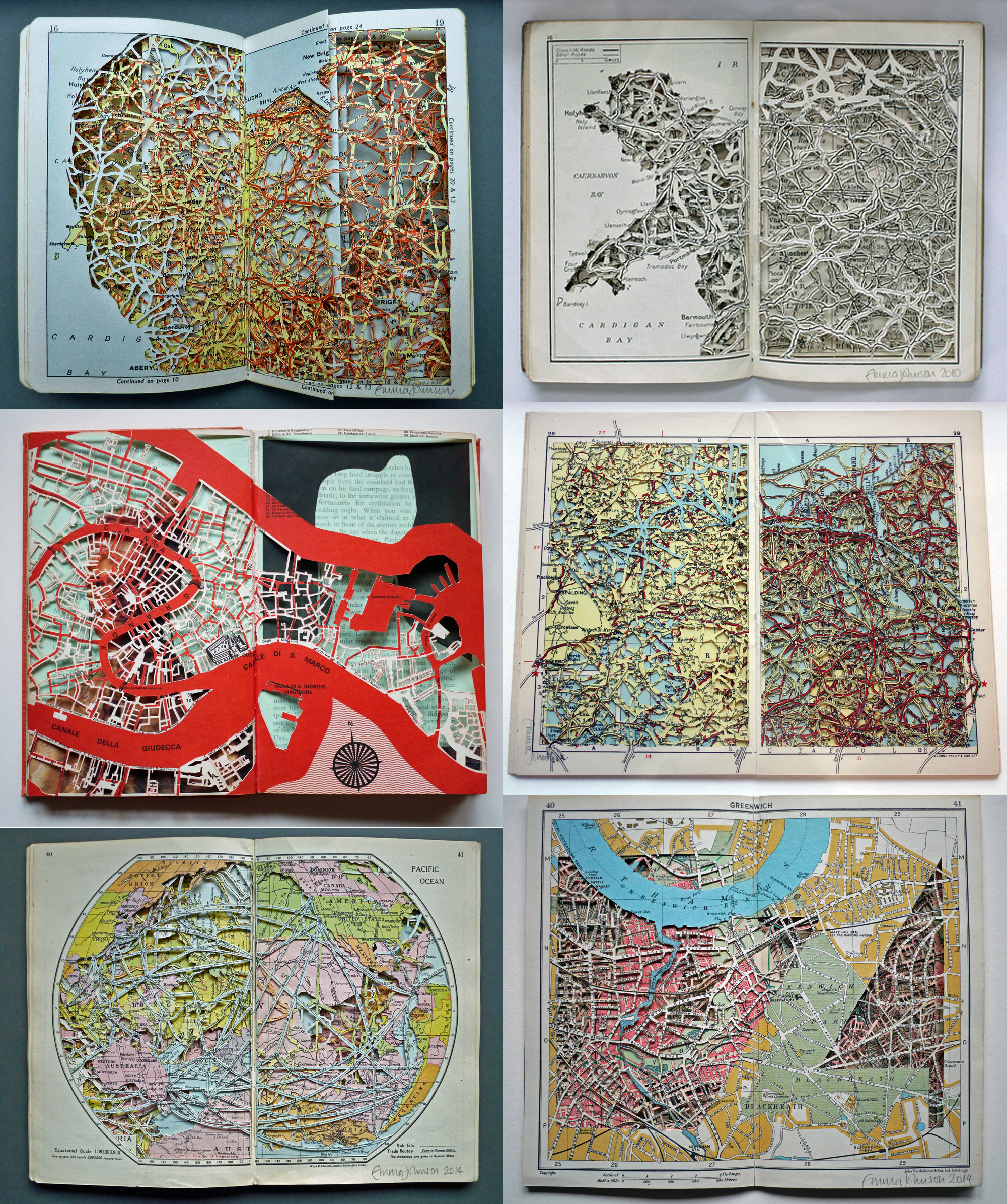 (Emma Johnson) Dissected Atlases