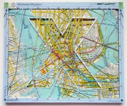 X(You Are Here) Lower Manhattan & Brooklyn